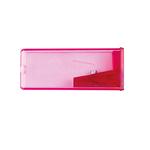 Temperamatite con contenitore - 1 foro - con serbatoio - Faber Castell - conf. 25 pezzi