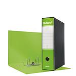 Registratore Oxford G85 - dorso 8 cm - protocollo 23x33 cm - verde lime - Esselte