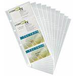 Buste di ricambio - per portabiglietti Visifix Pro - 80 biglietti da visita - 57x90 mm - Durable - conf. 10 pezzi