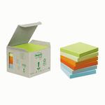 Blocco 100foglietti post-it®notes green 76x76mm 654-1gb natural