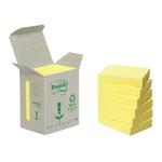 Blocco Post it® Z Notes Green - giallo - 38 x 51mm - 100 fogli - riciclabile 100% - Post it®