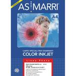 Carta fotografica Inkjet - A4 - 185gr - effetto lucido/lucido - As Marri - conf. 50fg