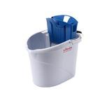 Kit UltraSpeed Mini - secchio da 10 L con strizzatore + mop + telaio 34 cm - mix di prodotti in omaggio inclusi - Vileda