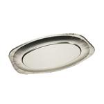 Vassoio in alluminio - 35x24,3x2,1 cm - Europack - conf. 10 pezzi