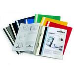 Cartellina ad aghi Duraplus - copertina personalizzabile - 21x29.7 cm - blu - Durable