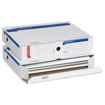 Scatola archivio Memory XL A3 - 30x42 cm - dorso 8 cm - bianco - Sei Rota