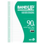 Ricambi BandUp forati rinforzati - A4 - 1 rigo con margine - 40 fogli - 90gr - BM