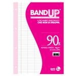 Ricambi BandUp forati rinforzati - A4 - rigo di 3a - 40 fogli - 90gr - BM