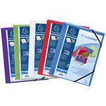 Cartella personalizzabile Kreacover® - con elastico - PP - 24x32 cm - colori assortiti - Exacompta