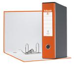 Registratore Eurofile G55 - dorso 8 cm - protocollo 23x33 cm - arancione - Esselte