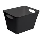 Contenitore Living Box - 43,1x32,1x26 cm - 24 L - PPL - nero - Rotho