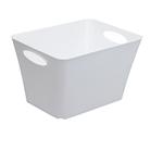 Contenitore Living Box - 43.1x32.1x26 cm - 24 lt - bianco lucido - Rotho