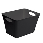 Contenitore Living Box - 52.6x39.2x31 cm - 44 lt - nero - Rotho