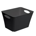 Contenitore Living Box - 52,6x39,2x31 cm - PPL - 44 L - nero - Rotho