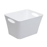 Contenitore Living Box - 52.6x39.2x31 cm - 44 lt - bianco lucido - Rotho