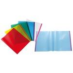 Coprilibro - 50x31cm - pvc goffrato blu trasparente - con biadesivo Sei Rota