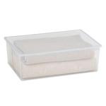 Contenitore multiuso Light Box XL - 57,8x39,6x18,5 cm - 36 L - plastica - trasparente - Terry