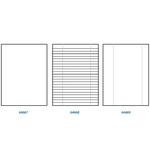 Carta uso bollo - A4 - 80 gr - 1 rigo - c/margine - bianco - Sabacart - conf. 500 fogli