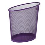 Cestino 18lt mesh viola in rete metallica alba