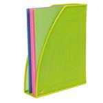 Portariviste Mesh - rete metallica - 26x8x33,5 cm - verde - Alba