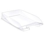 Vaschetta portacorrispondenza EcoLine - 35x25,5x6,5 cm - 24x32 cm - cristallo trasparente - Cep
