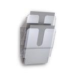 Display da parete Flexiplus - 2 tasche A4 - trasparente - Durable