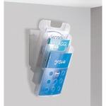 Vaschette portariviste da parete - Tecnostyl - set 3 tasche A4