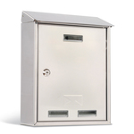 Cassetta postale Elios Steel - 35x45x15 cm - acciaio inox - Metalplus