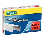 Punti Rapid Super Strong - 24/8+ - metallo - Rapid - conf. 1000 pezzi