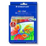 Astuccio 36 pastelli colorati 144 Noris Club - Staedtler