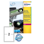 Poliestere adesivo l7068 bianco 20fg A4 199,6x143,5mm (2et/fg) laser avery