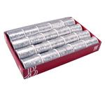 Cordonetto tubolare - argento - 1,5mm x 10mt - Bolis - conf. 20 rocchetti