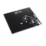 Bilancia elettronica Pesapersone - 26x3x30 cm - capacità massima 150 kg - nero - Melchioni