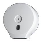 Distributore Basica per carta igienica in rotoli Mini Jumbo - 28,2x12x29,4 cm - bianco - Medial International