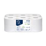 Carta igienica Mini Jumbo Bio Tech - microgoffrata - 2 veli - 16,5 gr -  diametro 19,5 cm - 9,5 cm x 150 mt - Papernet