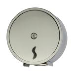 Distributore di carta igienica in rotoli Mini Jumbo da 200 mt - 26x12,7x26,5 cm - acciaio inox - Medial International