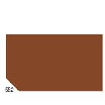 Carta velina -  50x70cm - 31gr - marrone 582 - Sadoch - busta 26 pezzi