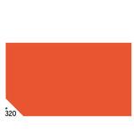 Carta velina -  50x70cm - 31gr - arancio 320 - Sadoch - busta 26 pezzi