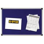 Pannello Maya Felt Board - feltro blu - 60x90 cm - Bi-Office