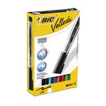 Marcatori Whiteboard Marker Velleda liquid Ink - 4 colori - punta tonda 2,3mm - Bic - astuccio 4 marcatori