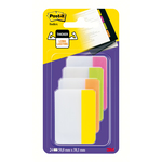Segnapagina Post it® Index Strong - per archivio - 50,8x38,1 mm - rosa/lime/arancio/giallo - Post it® - conf. 24 pz