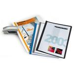 Cartellina per rilegatura Durabind - PVC - 21x29.7 cm - azzurro - Durable