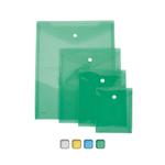 Busta con bottone - formato verticale - 13,5x18,5 cm - colori assortiti - Lebez