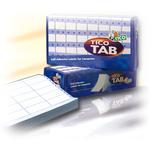 Etichette a modulo continuo Tico TAB 1 - 107x48,9 mm - corsia singola - permanente - bianco - Tico - scatola da 3000 etichette