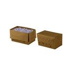 Sacchi per distruggidocumenti - fino a 20 L - carta riciclata - Rexel - conf. 20 pezzi