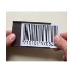 Portaetichette magnetico - 30x100 mm - grigio - Markin - conf. 20 pezzi