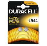 Blister 2 pile alcaline 1,5V - LR44 - 150mah - Duracell