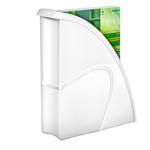 Portariviste CepPro Gloss - 26,5x31 cm - dorso 8 cm - bianco artico - Cep