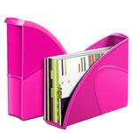 Portariviste CepPro Gloss - 26,5x31 cm - dorso 8cm - rosa pepsi - Cep