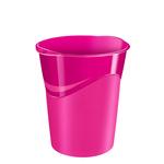 Cestino Gloss - altezza 33,4 cm - diametro 30,5 cm - 14 lt - rosa pepsi - CEP